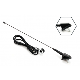 Antena delka: 41cm, rádio / mobilní telefon, prutová anténa 7103301048