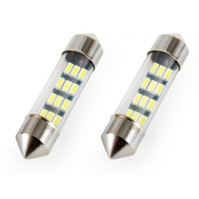 Крушка с нагреваема жичка, светлини за парк / позициониране LED (светодиоди), C5W, 0.5ват 01090/71819