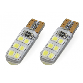 Крушка с нагреваема жичка, светлини за парк / позициониране LED (светодиоди), W5W, T10, 1.5ват 01095/71824