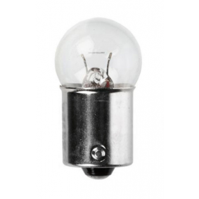 Крушка с нагреваема жичка, стоп светлини / габарити R10W, BA15s, 10ват, 24волт 01004