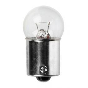Glühlampe, Kennzeichenleuchte R5W, BA15s, 5W, 24V 01003