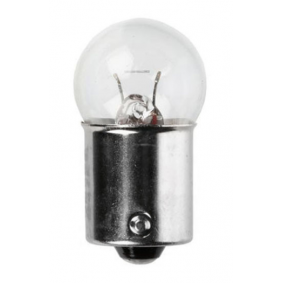 Bulb, licence plate light R5W, BA15s, 5W, 24V 01003