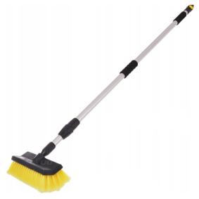 Bürste für Autoinnenraum Material Werkzeuggriff: Aluminium 01274