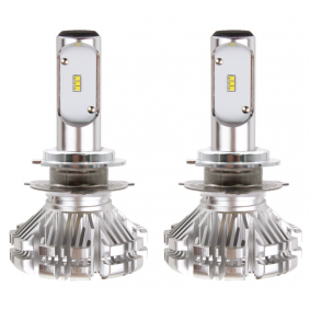 Крушка с нагреваема жичка, фар за дълги светлини H7-2, 40ват, 6волт, LED (светодиоди) 02062