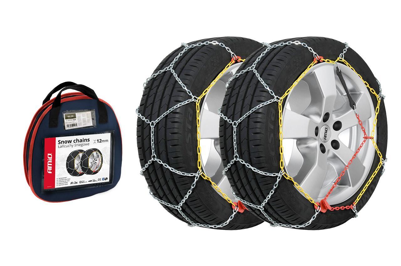 AMiO KN-100 02115 Snow chains Wheel Diameter: 14, 15, 16, 17, 18, 19Inch