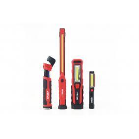 Handleuchte Batterie-Kapazität: 1800mAh, Leuchtdauer: 3Std., Leuchten-Bauart: LED 02172