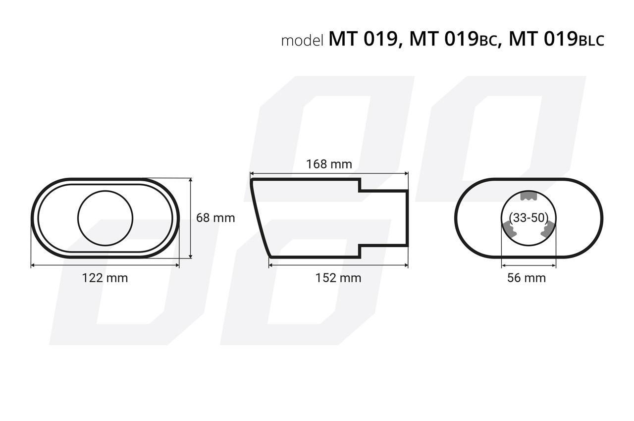Deflector tubo de escape AMiO 02191 evaluación
