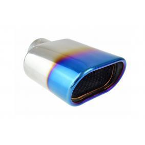 Deflector do tubo de escape 02191