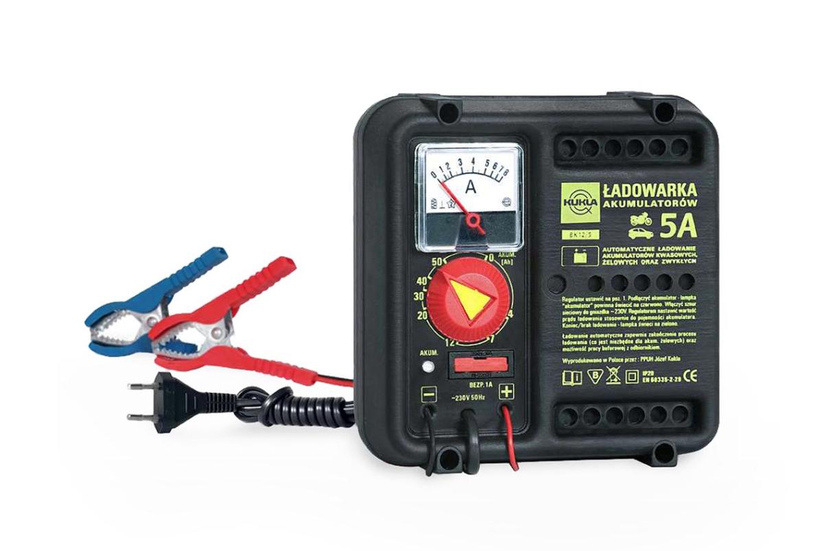 KUKLA Automatik , BK 5 K5505 Chargeur de batterie Tension-entrée: 220-240V