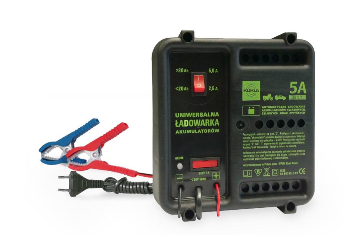 KUKLA BK 5 K5514 Batterieladegerät Eingangsspannung: 230V