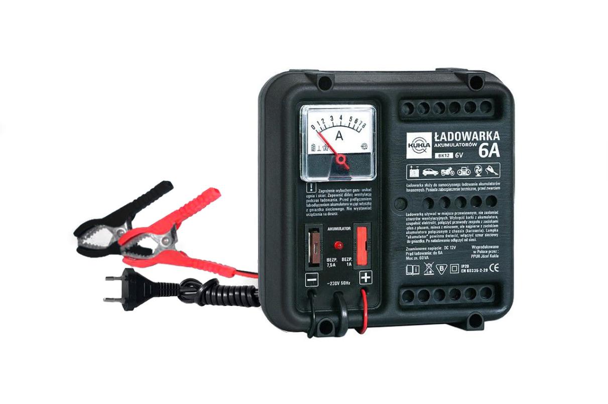 KUKLA BK 5 K5500 Batterieladegerät Eingangsspannung: 230V