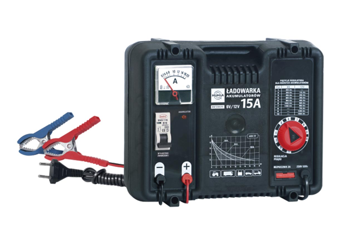 KUKLA BK 5 K5508 Batterieladegerät Eingangsspannung: 220-240V