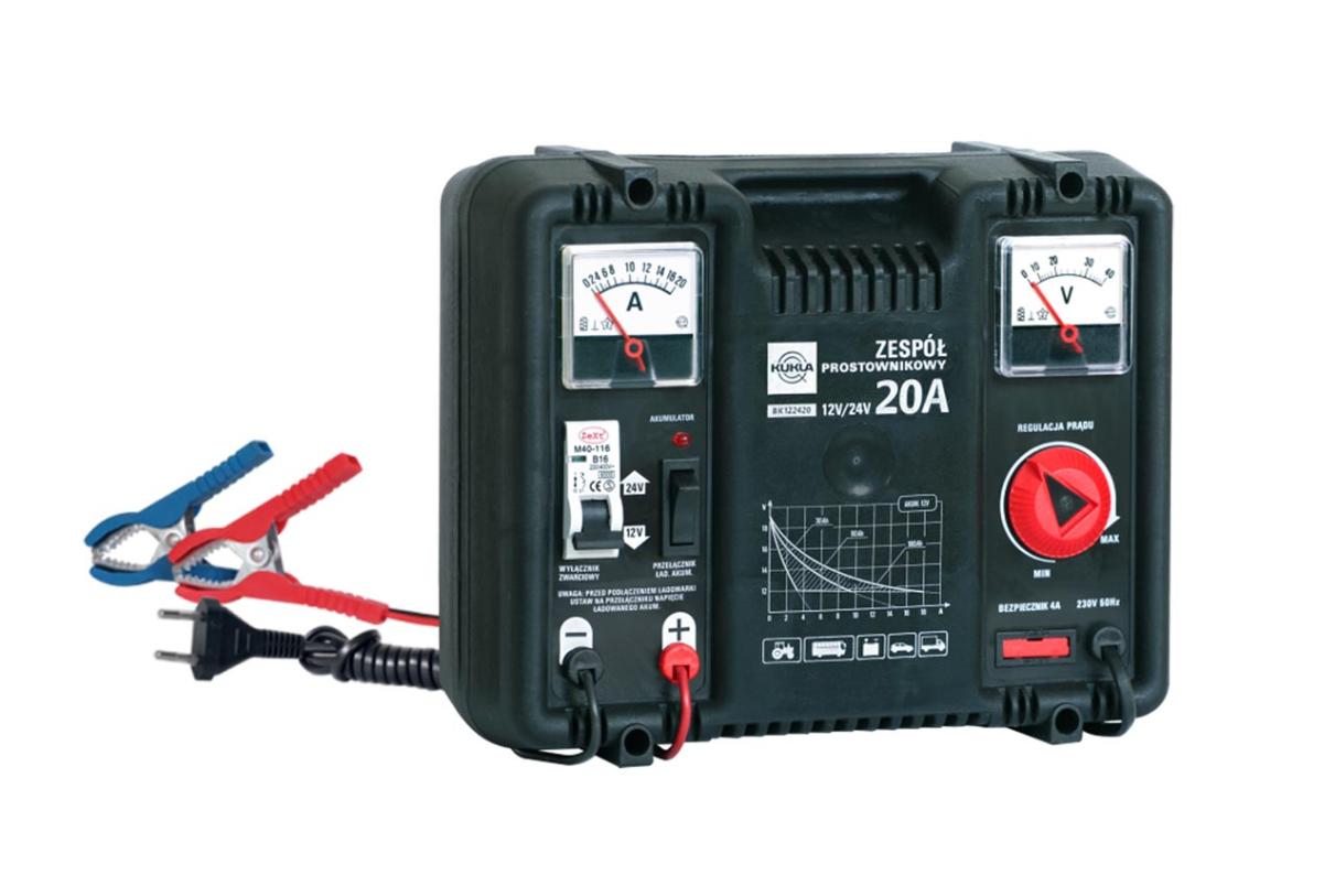 KUKLA BK 5 K5510 Batterieladegerät Eingangsspannung: 220-240V