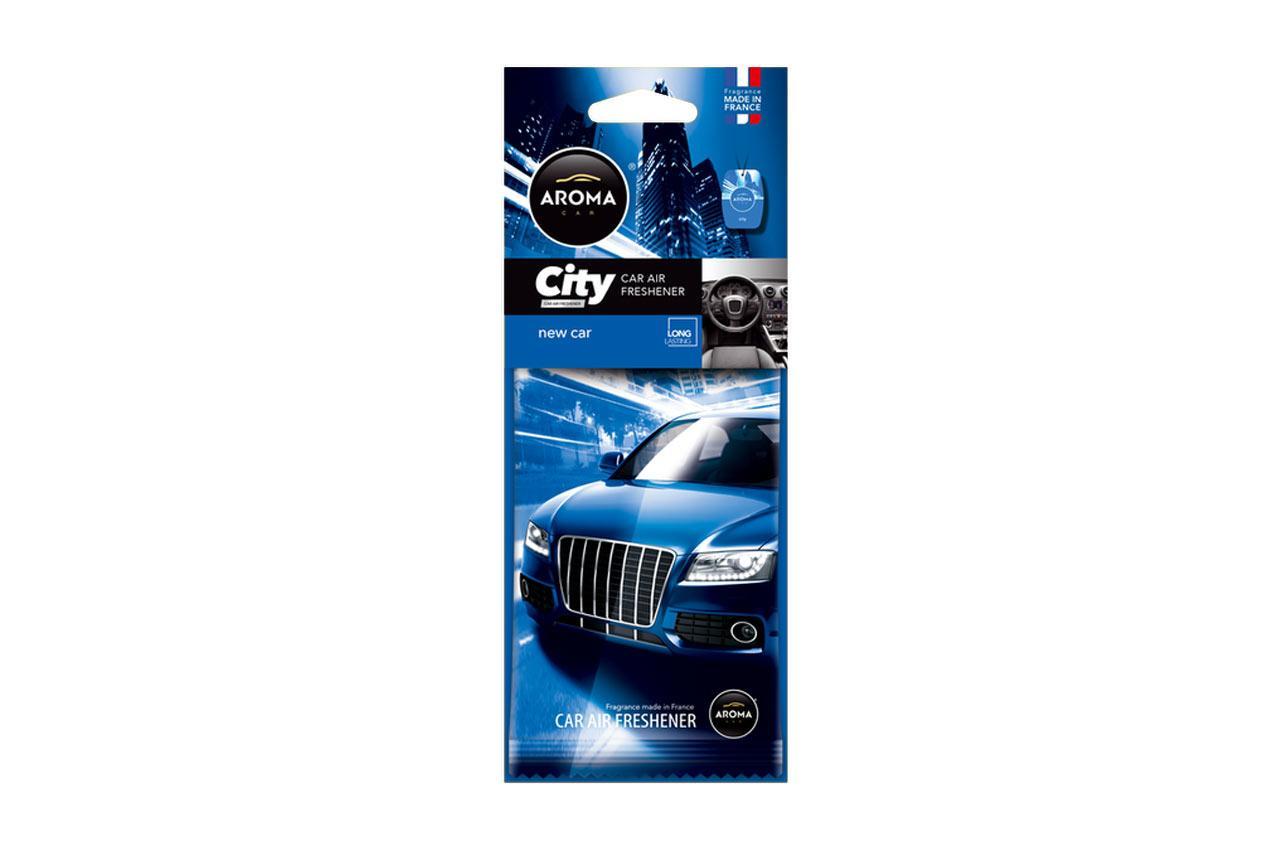 AROMA CAR New Car, City Card A92668 Deodorant