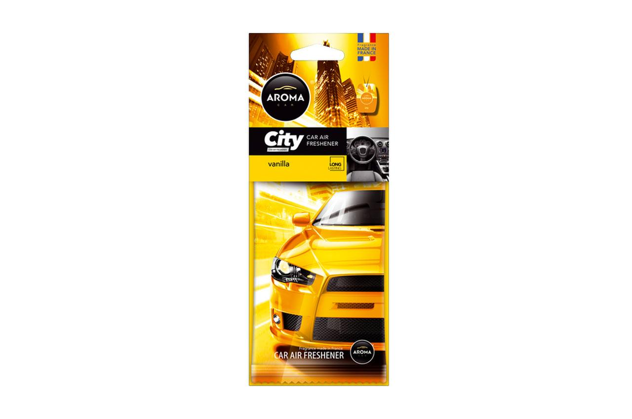 AROMA CAR Vanilia, City Card A92669 Duftfrisker