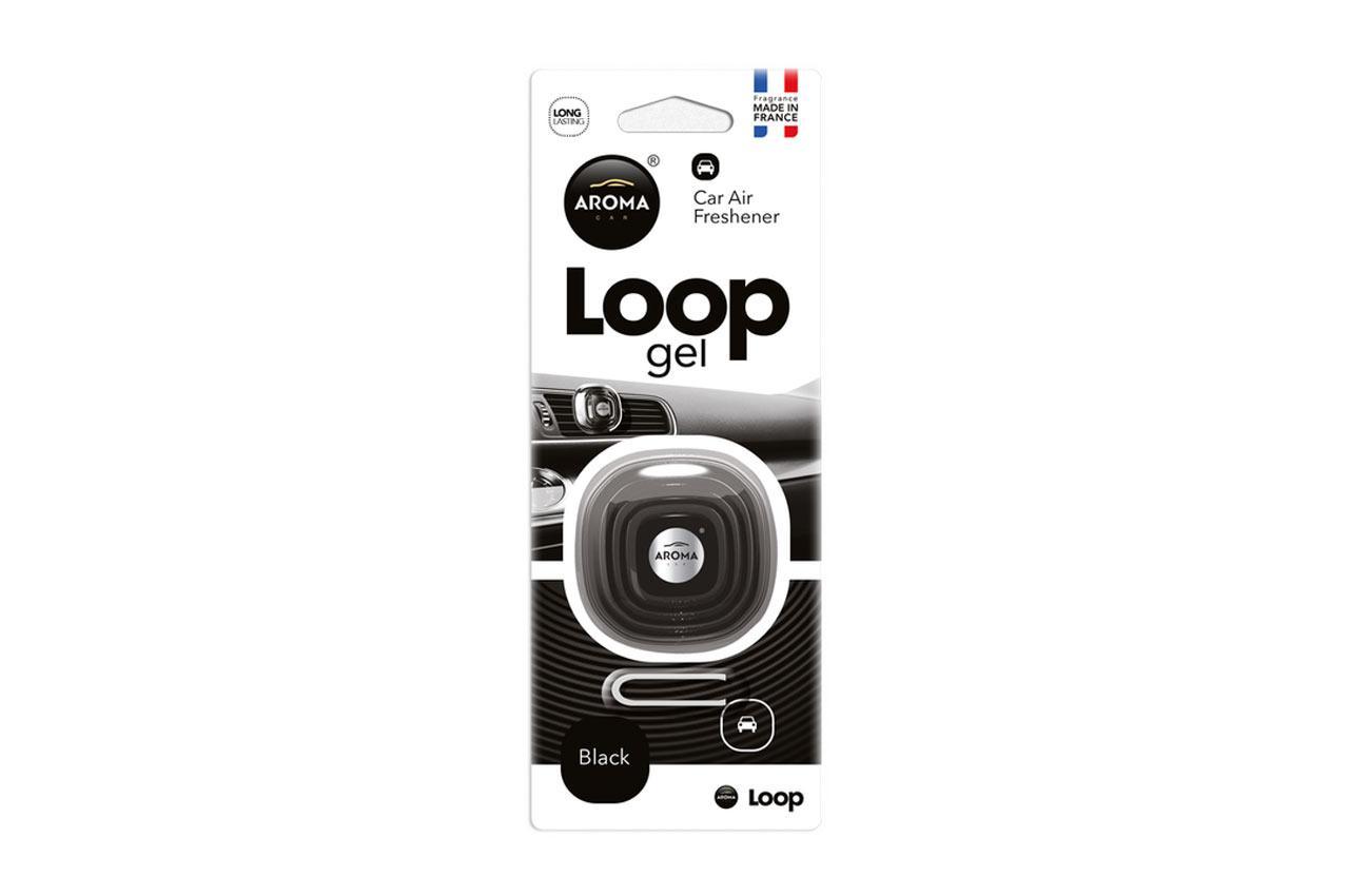 AROMA CAR Black, Loop gel A63113 Deodorant