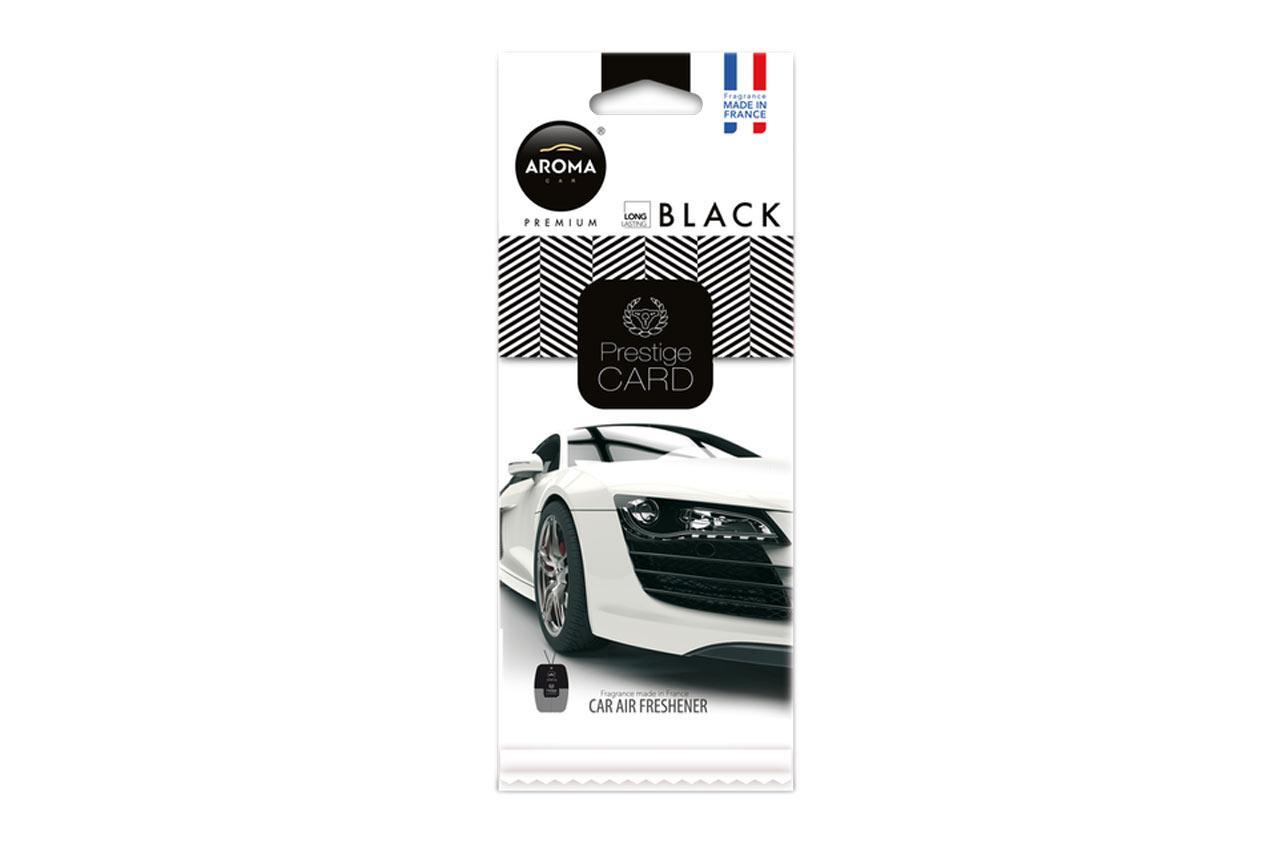 AROMA CAR Black, Prestige Card A92664 Lufterfrischer