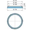 OEM Сензорен пръстен, ABS 05.310.08.44.1 от BPW