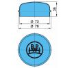 original BPW 15205750 Cap, wheel bearing