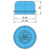 OEM Cap, wheel bearing 03.211.07.03.0 from BPW