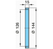 OEM Anillo sensor, ABS 03.310.07.21.0 de BPW