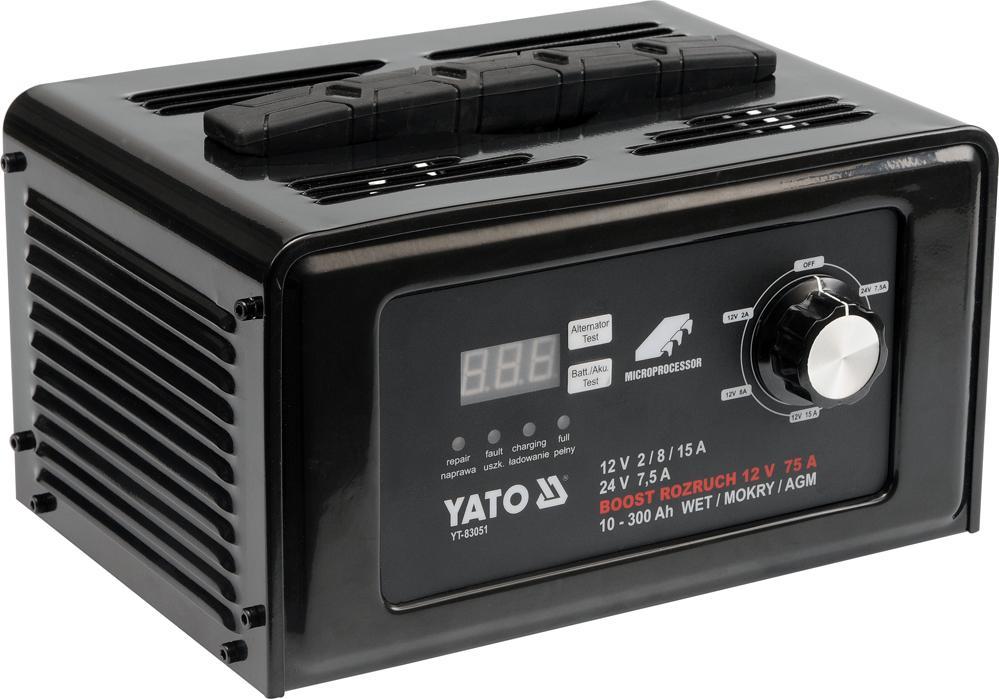 Batterieladegerät YT-83051 YATO YT-83051 in Original Qualität