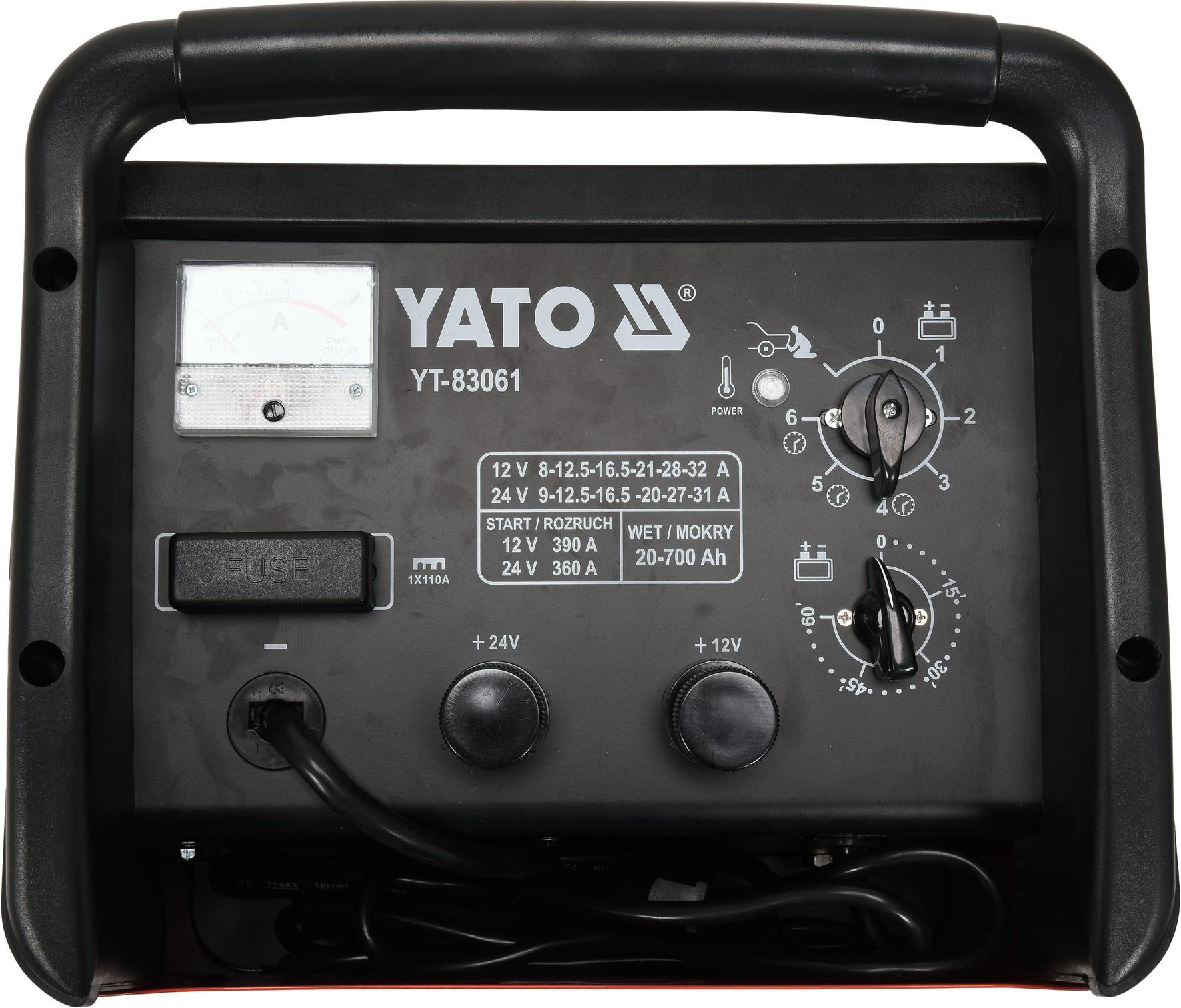 Batterieladegerät YATO YT-83061 Bewertung