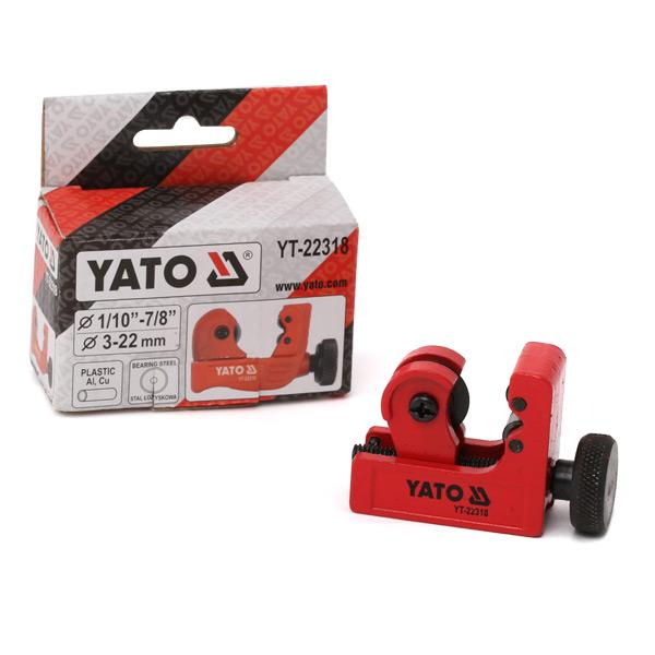 Corta-tubos YATO YT-22318 conhecimento especializado