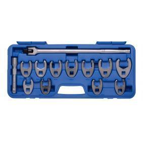 Zestaw kluczy oczkowych z pierżcieniem rozciąganym