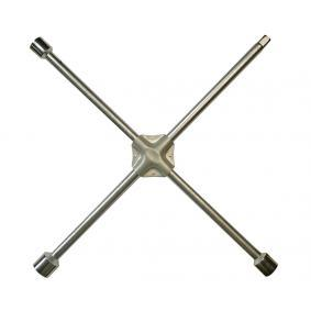 Llave de cruz para rueda de cuatro vías Long.: 355mm 02200L