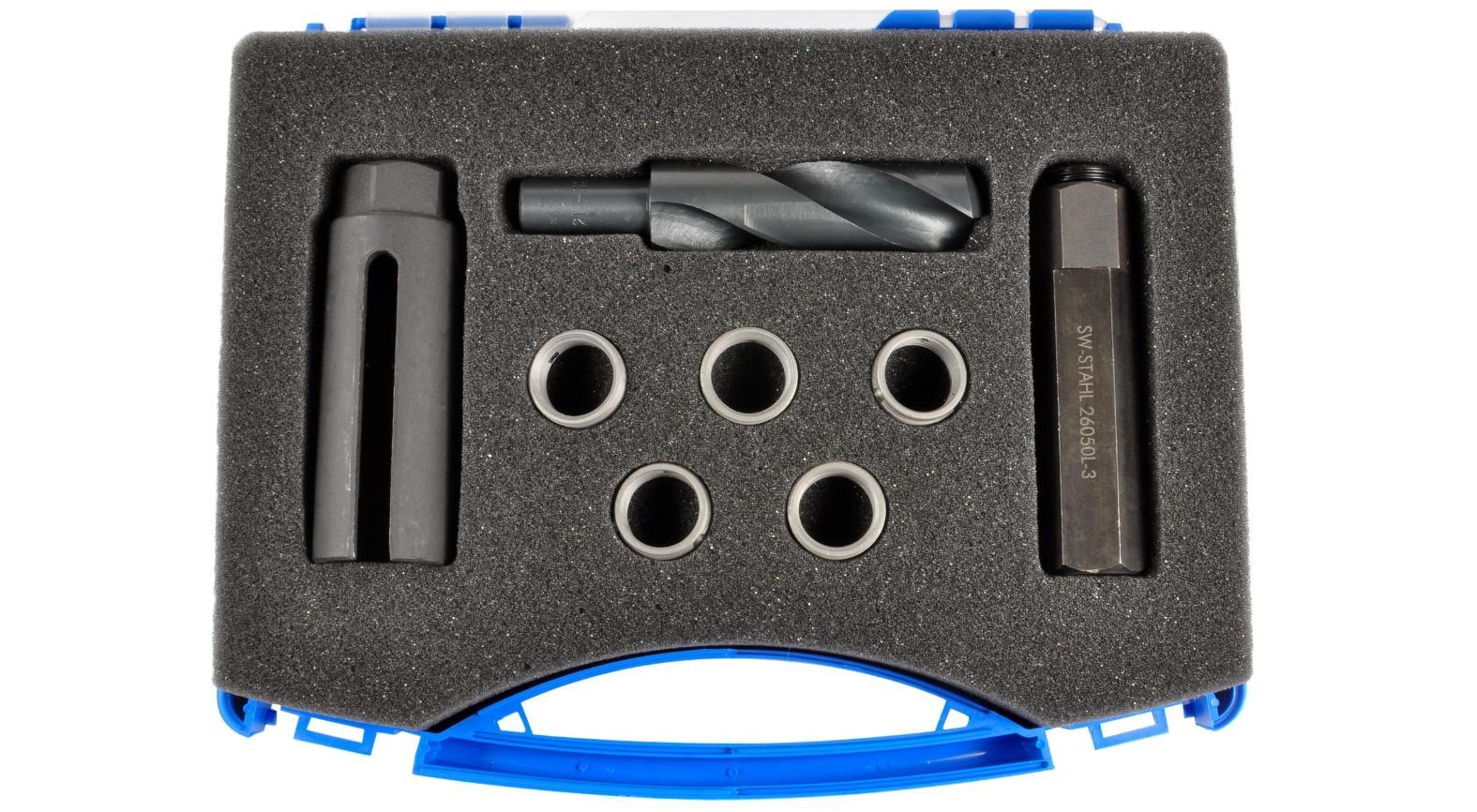 SW-Stahl  26055L Kit utensili per filettare, Sonda lambda
