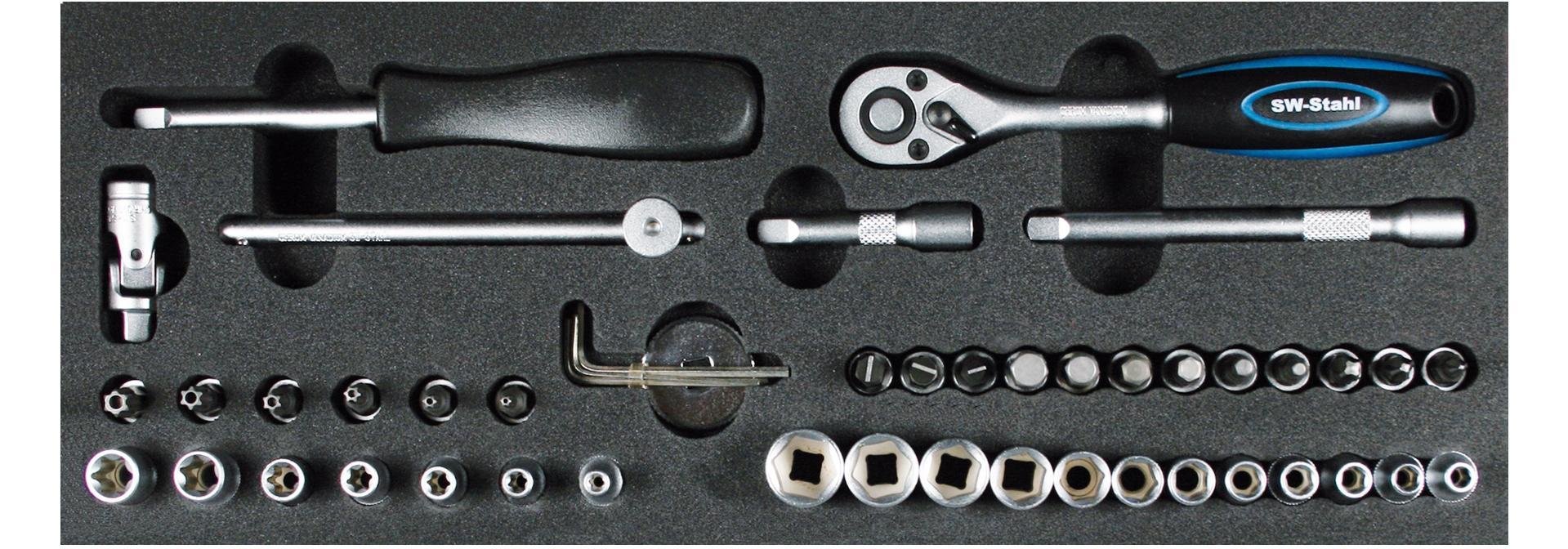 SW-Stahl  Z2525-2 Kit de herramientas