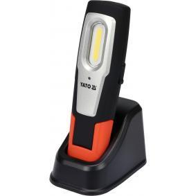 Lámpara de mano Capacidad: 2200mAh, duración luz: 3,5 - 7Horas YT08560