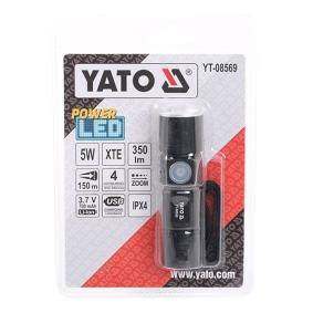 Lampade a mano Capacità batteria: 650mAh, Durata luminosità: 3h YT08569