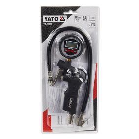 Urządzenie do pomiaru ciżnienia w kole i pompownia powietrza YT23702