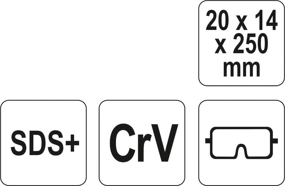 Scalpello, Martello per bulinare YATO YT-4721 valutazione
