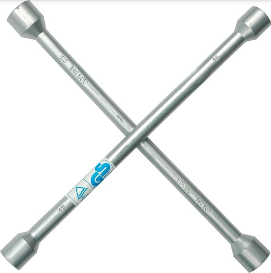 Four-way lug wrench VOREL 57000 5906083570001