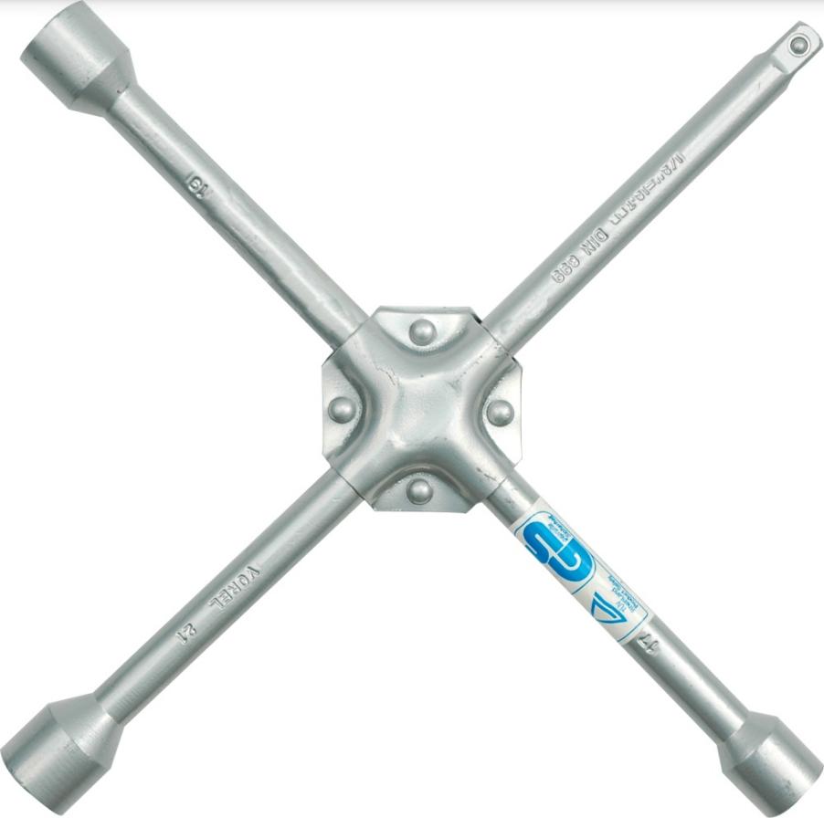 Four-way lug wrench VOREL 57020 rating