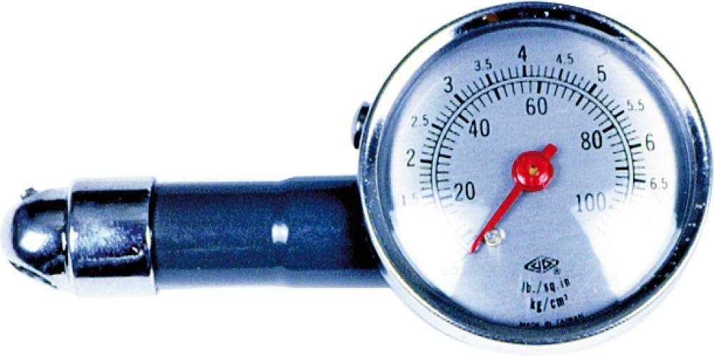 VOREL  82610 Compressed Air Tyre Gauge / -Filler