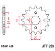 OEM Зъбно колело, верига JTF259.18 от JTSPROCKETS