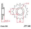 OEM Piñón para cadena JTF340.18 de JTSPROCKETS