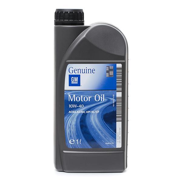 Motorolaj OPEL GM 93165213 szaktudással