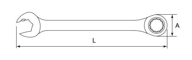 Ratschen-Ringgabelschlüssel SATA 43202 Bewertung