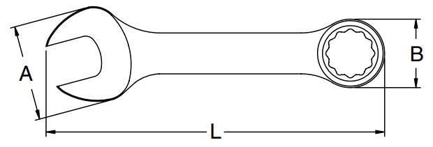 Klucz oczkowo-płaski z grzechotką SATA 49203 oceny