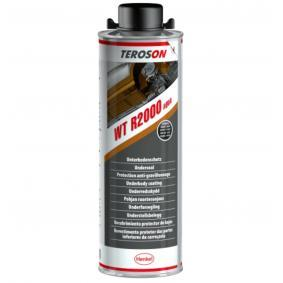 Unterbodenschutz TEROSON 1335490 für Auto (Flasche, R2000, Inhalt: 1l, Gewicht: 1.1kg, schwarz)
