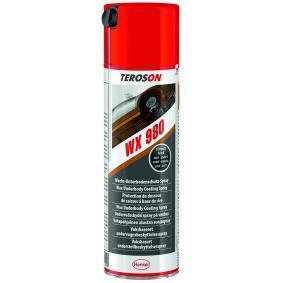 Unterbodenschutz TEROSON 794867 für Auto (Sprühdose, WX 980, Gewicht: 600g, Inhalt: 500ml)