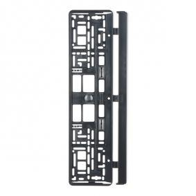 Licence plate holders Quality: PP/PS 93001