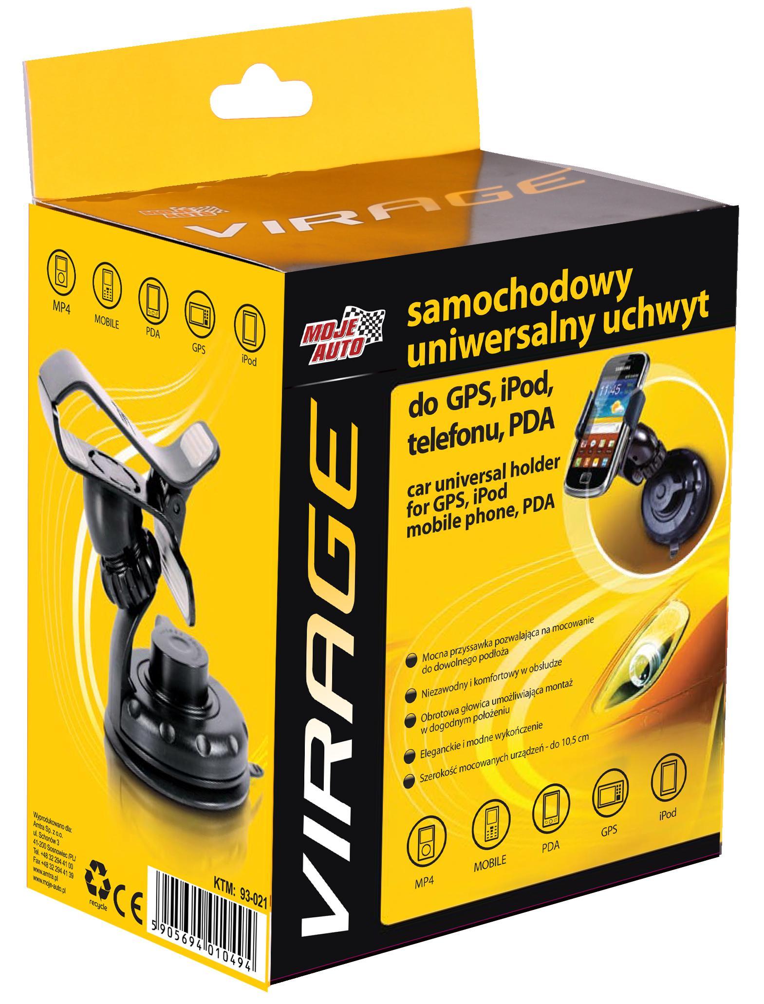 Mobile phone holders VIRAGE 93-021 5905694010494