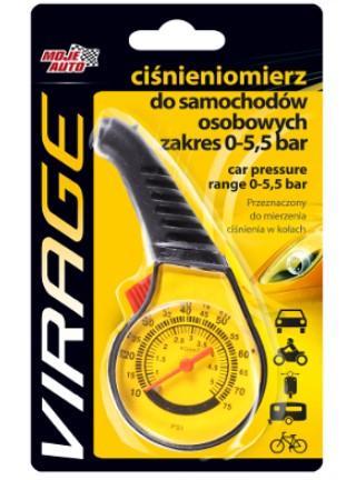 Compressed Air Tyre Gauge / -Filler VIRAGE 93-009 5905694010371
