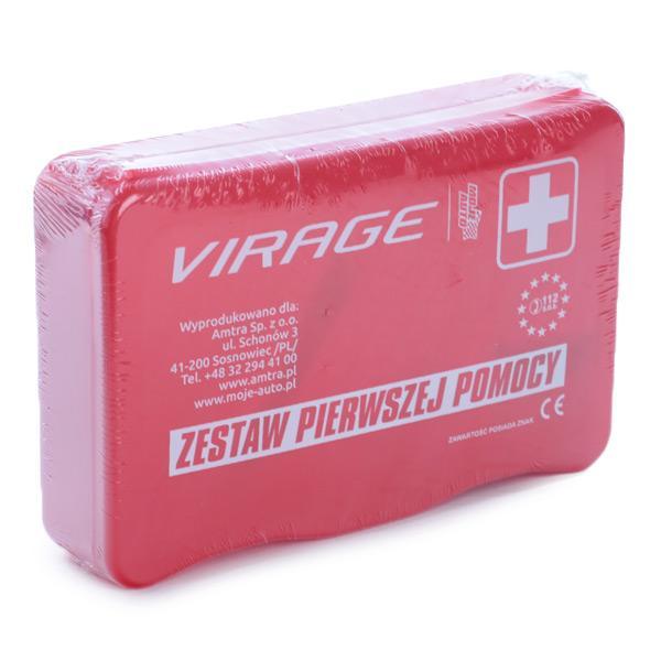 Kit voiture de premier secours VIRAGE 94-004 connaissances d'experts